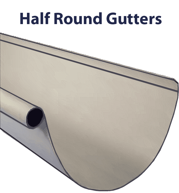 Half Round Gutters Hickory Nc Wize Home Direct