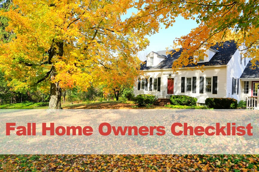 Fall Home Owner Checklist