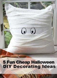 5 Fun Cheap Halloween DIY Decorating Projects