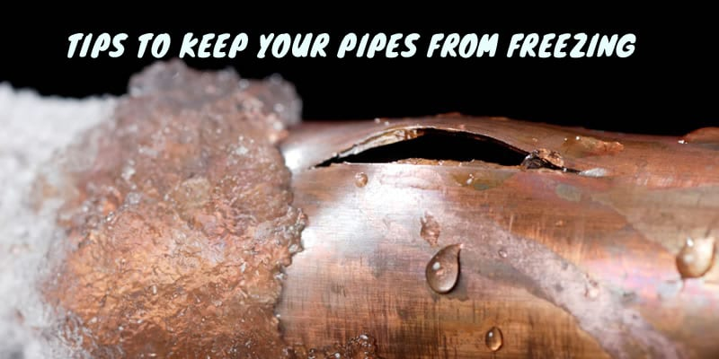 Helpful Tips To Prevent Your Pipes From Freezing