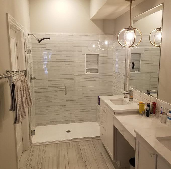 Tub To Shower Conversion Ideas