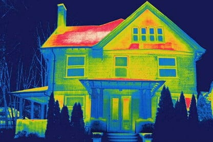 where heat goes in your house